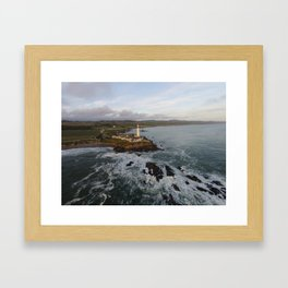 pigeon point lighthouse #2 Framed Art Print