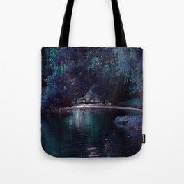 Mystical Lake Tote Bag