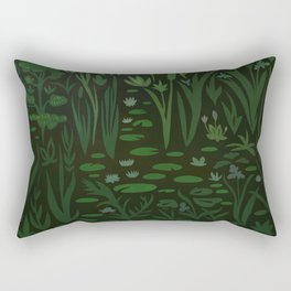 The Frog Prince Rectangular Pillow