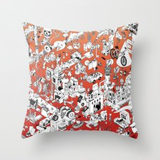 I Lost My Keys Throw Pillow