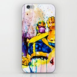 Thanos iPhone Skin