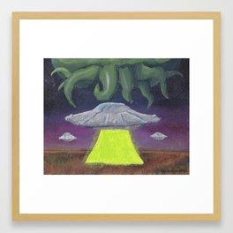 Celestial Terrestrial Framed Art Print