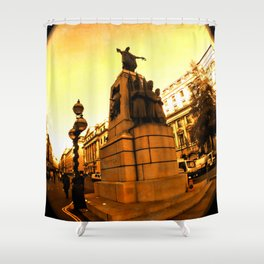 London InFocus Collection VIII Shower Curtain