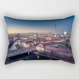 Golden Berlin Rectangular Pillow