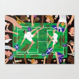 'Match Point' Canvas Print