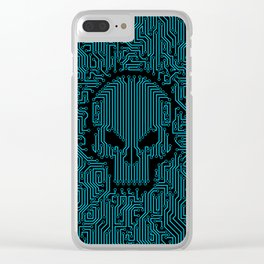 Bad Circuit Clear iPhone Case