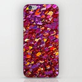 Forest Floor in Autumn iPhone Skin