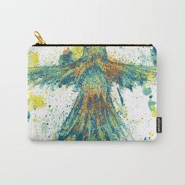 Parrot Splatter Carry-All Pouch