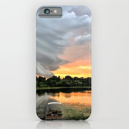 """""""Stormy Sunset"""" iPhone Case"""