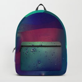 Electric Oil Droplets Number One Backpack