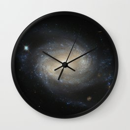 Barred Spiral Galaxy NGC 4639 Wall Clock