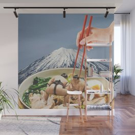 Fuji, Sumo, Ramen // Japan Love Wall Mural