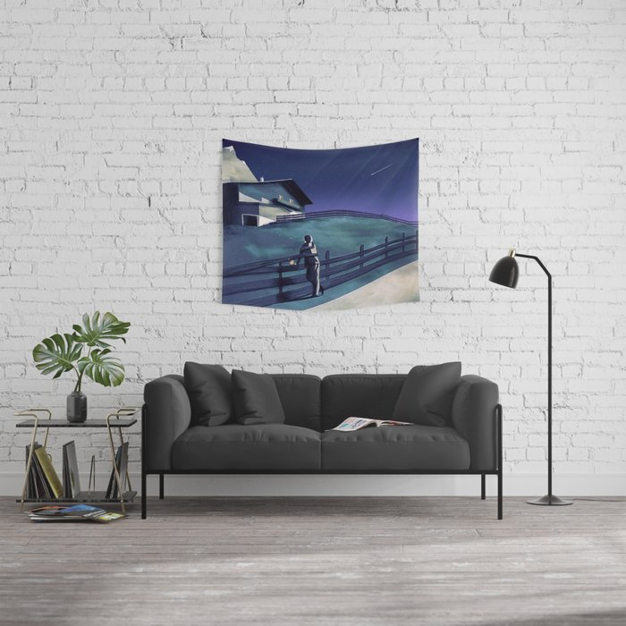 Waiting for you Wall Tapestry