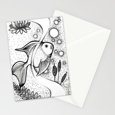 Little Fish, Big Pond Stationery Cards