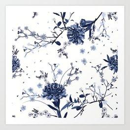 Blue roses #81 Art Print