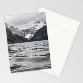 Lake Louise Mountain View Stationery Cards
