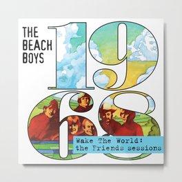 the boys beach 1968 muncrat Metal Print