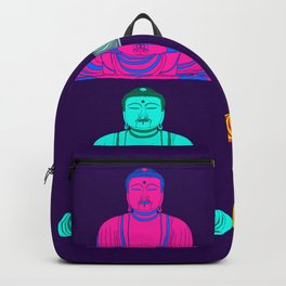 Daibutsu Buddha in Pop Art Backpack