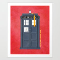 11th Doctor - DOCTOR WHO Art Print