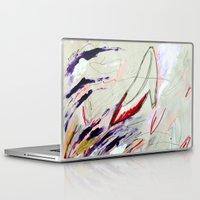 heels Laptop & iPad Skins featuring High Heels by Derek Boman
