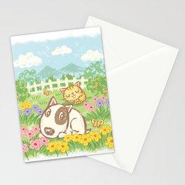 Dog Cat Stationery Cards