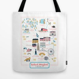 Frederick, Maryland Tote Bag