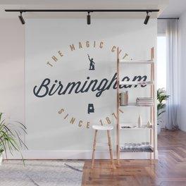 Birmingham, Alabama - The Magic City Wall Mural