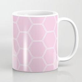 Honeycomb - Light Pink #326 Coffee Mug