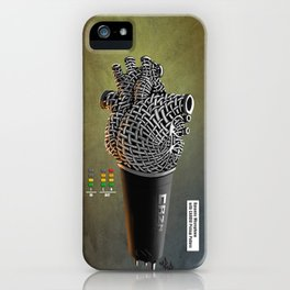 CRZN Dynamic Microphone - 003 iPhone Case