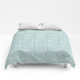 Floral Pattern #1 #decor #art #society6 Comforters