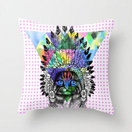 Colors Galor / Dreamweaver Throw Pillow