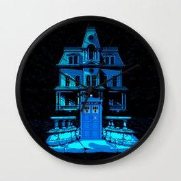 Tardis Horror Castle Wall Clock