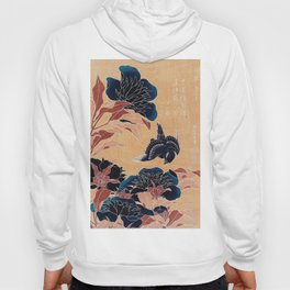 japanese flowers Hoody