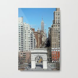 Washington Square Arch & 5th Ave NYC  Metal Print