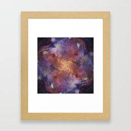 Celestial Orgasm Framed Art Print