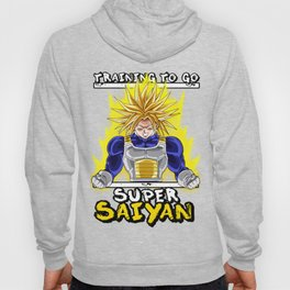 Training to go super saiyan - Trunks Hoody