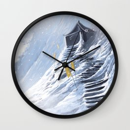 Abandoned Wall Clock