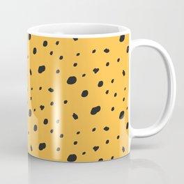 Leopard print. Spots pattern Coffee Mug
