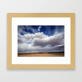 Desert Big Sky Framed Art Print