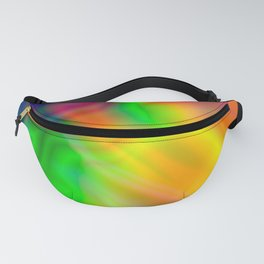 Abstract Iridescent Water Fanny Pack