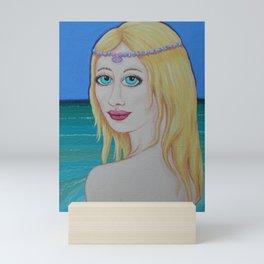 Sea Princess by Soozie Wray Mini Art Print