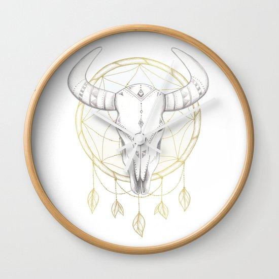 Southwestern Vibes Wall Clock