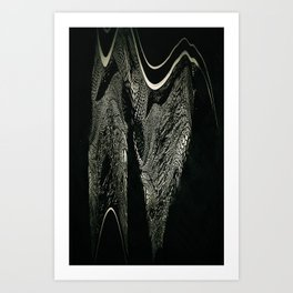 reptile photo - lithography - one and only piece Art Print