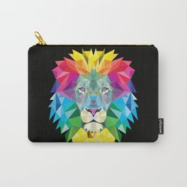High Color Lion  Carry-All Pouch