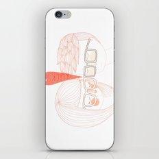 Nerd Kiss iPhone & iPod Skin