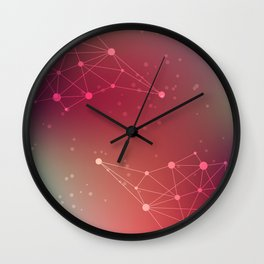 Abstract Background 14 Wall Clock