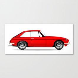 Sports Car Coupe Canvas Print