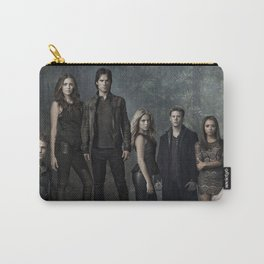 The Vampire Diaries Cast Carry-All Pouch