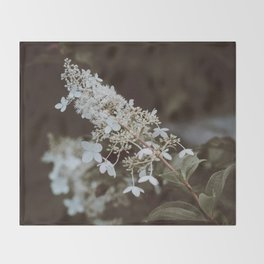 Flower Photography by Annie Spratt Throw Blanket