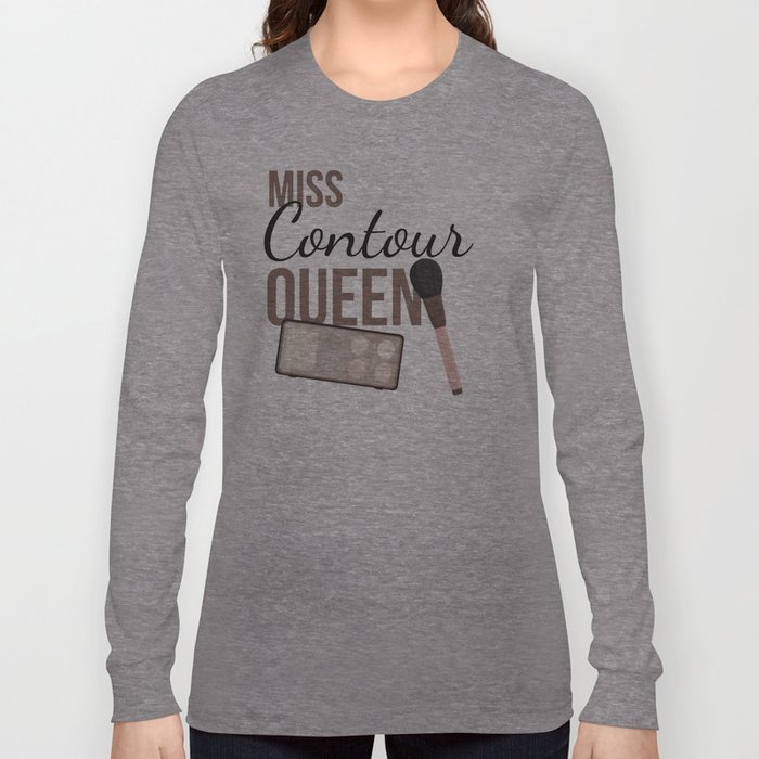 Contour Queen Long Sleeve T-shirt